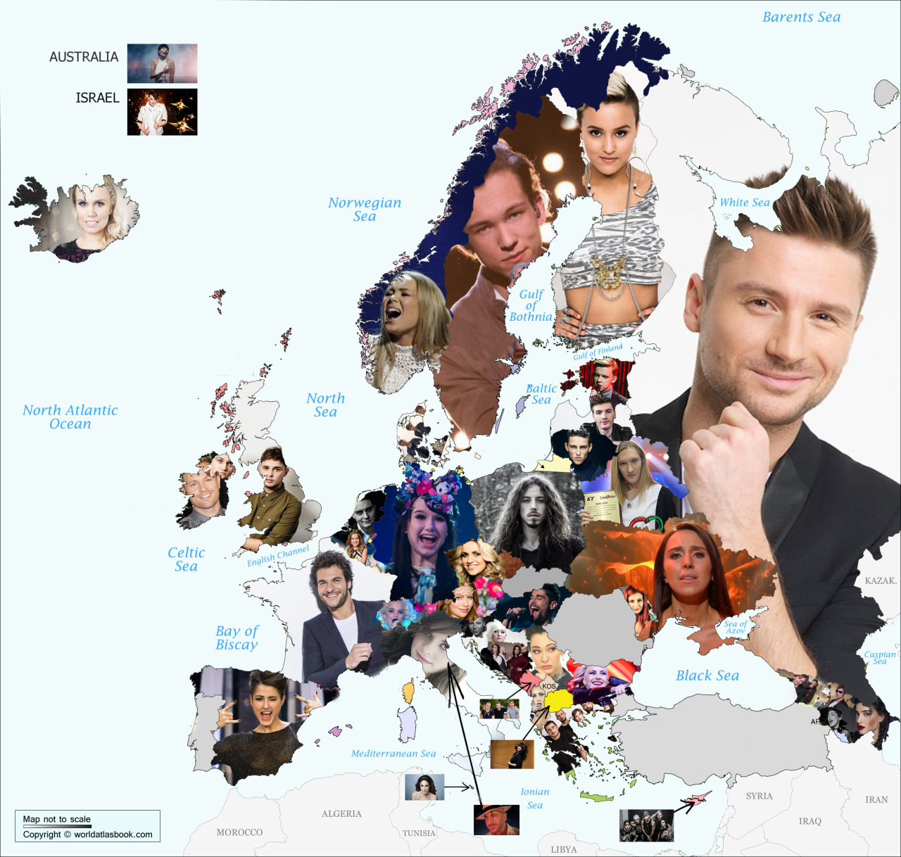 Eurovision participants (2016)
