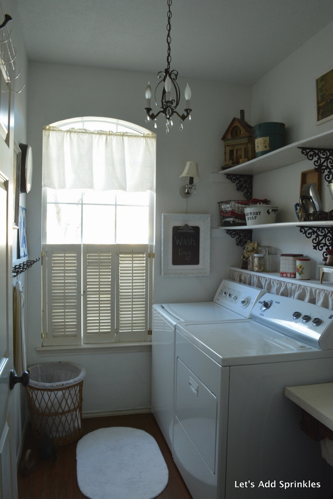 Let S Add Sprinkles Farmhouse Laundry Room Reveal