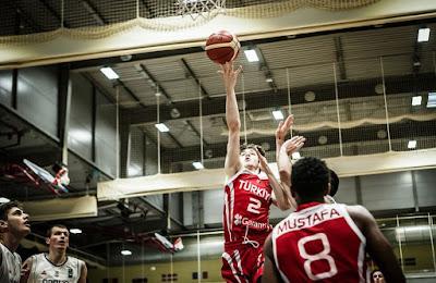 FIBA U20 Europe Türkiye - Sırbistan Şehmus Hazer