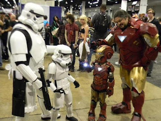 Stormtrooper / Iron Man Cosplay