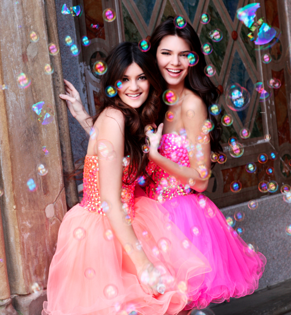 Kylie and Kendall Jenner: April 2013