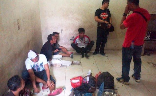 Pemukiman di Deli Serdang Digerebek, Bandar Narkoba Ditangkap