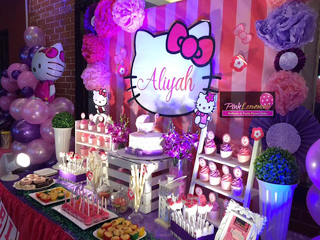 Affordable Balloon Decor and Dessert Buffet