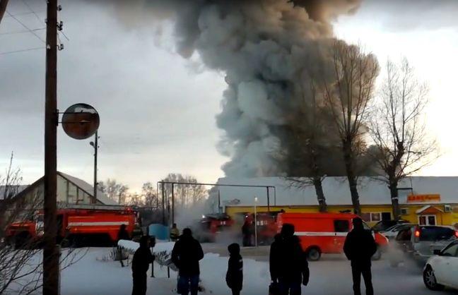 На фабрике в Новосибирске погибли 10 китайцев