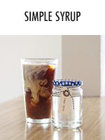 Simply the easiest syrup you'll ever make - great for mixed drinks or iced coffee