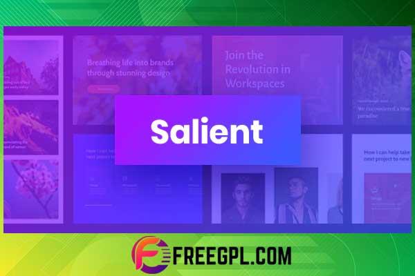 Salient - Responsive Multi-Purpose Theme Free Download