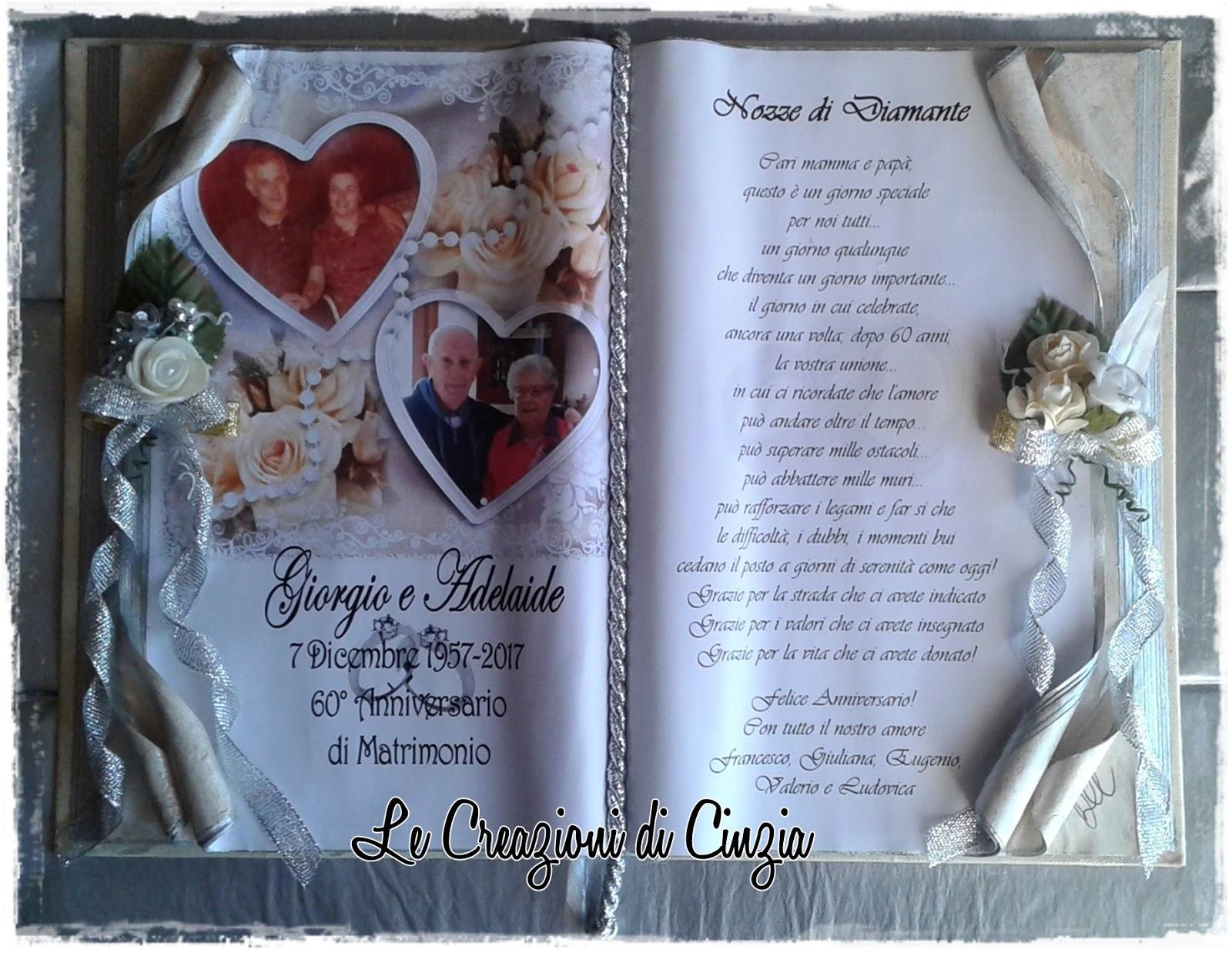 Anniversario Matrimonio Nozze Di.Le Creazioni Di Cinzia Anniversari Di Matrimonio