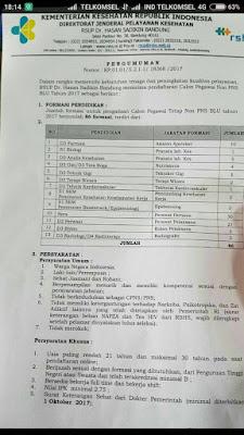Gebyar Pembukaan Lowongan Pekerjaan Gratis RSUP Hasan Sadikin BESAR-BESARAN HARI INI