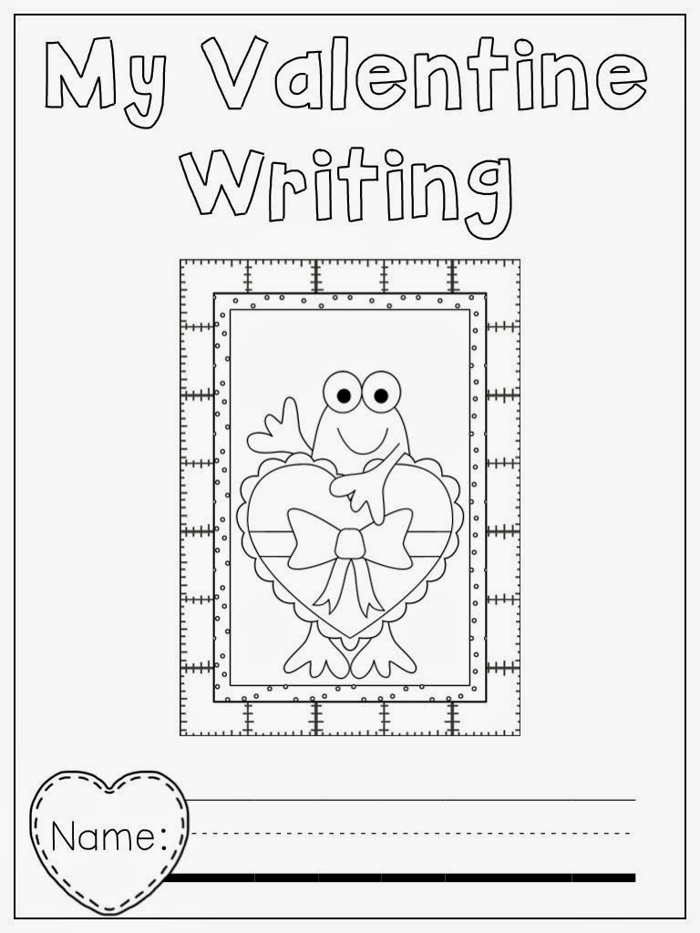 freebie froggy valentine writing freebie