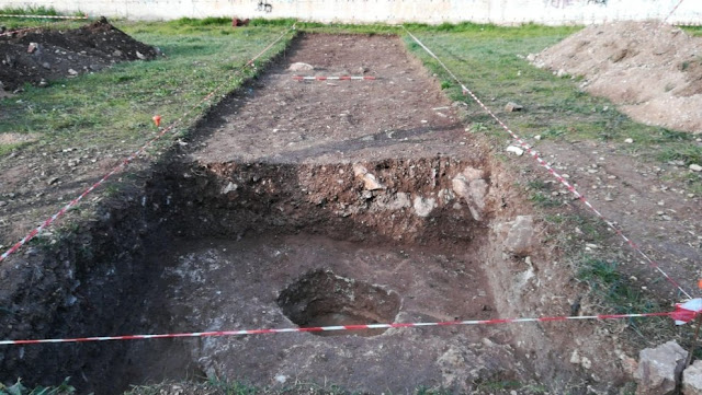 Ancient Greek necropolis unearthed in south Italian port city of Bari