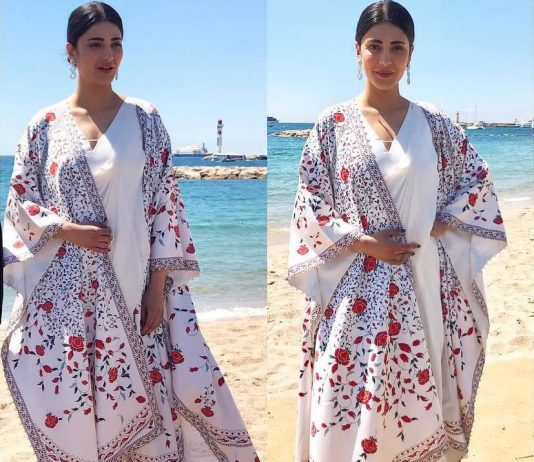 Shruti Hassan at cannes 2017 , Cannes Film Festival 2017, indian actresses at cannes 2017, who wore what cannes 2017