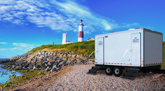 Elegant Restroom Trailers - The Atlantic