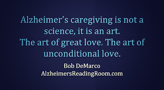 Alzheimer's care is an art, not a science