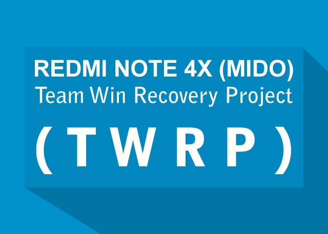 Root Redmi Note 4 Snapdragon And Install Twrp Recovery