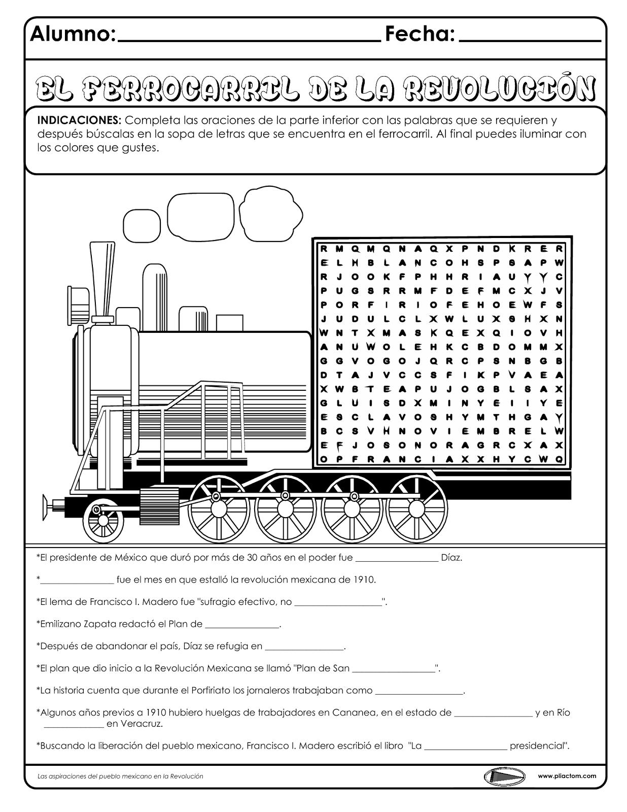 El Ferrocarril De La Revolución Mexicana