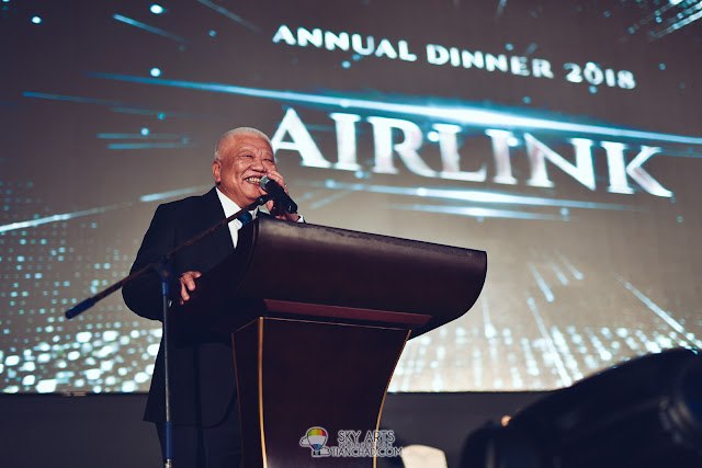 Airlink Annual Dinner 2018 at Chuai Heng Banquet Hall KL