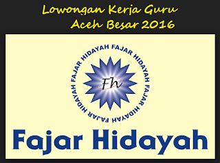 Sekolah Islam terpadu Fajar Hidayah Aceh Besar