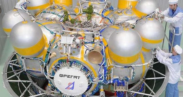 Fregat booster. Credit: Roscosmos