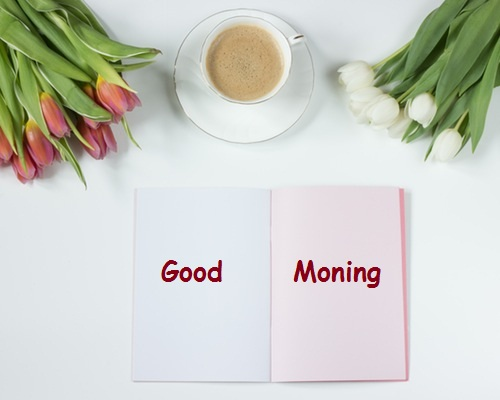 Good Morning Coffee And Flower Pictures
