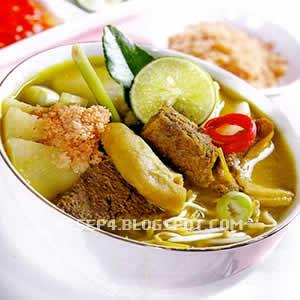 tetapi cara menciptakan soto daging jeroan ini tetap hampir sama saja Resep Soto Babat Sapi