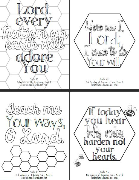 Sweeter Than Honey Coloring Pages