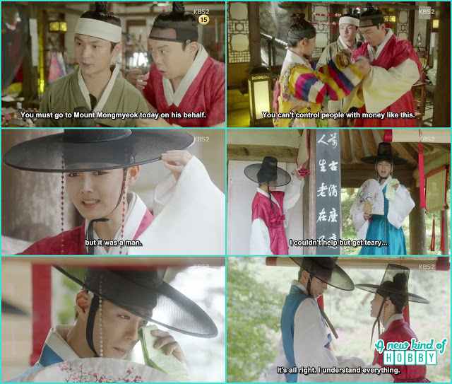 ra on there to meet the girl jung love but turned out to be a boy - prince first encounter with ra on - Love in the Moonlight - Episode 1 Review