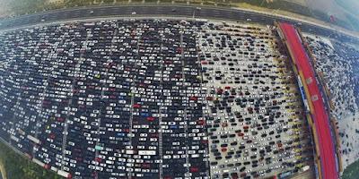Cara Mengatasi Kemacetan Paling Ekstrim di Dunia