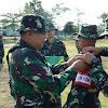 Kasrem 141/Tp Pimpin Upacara Pembukaan Briefing Latihan Posko II Yonif 726/Tml