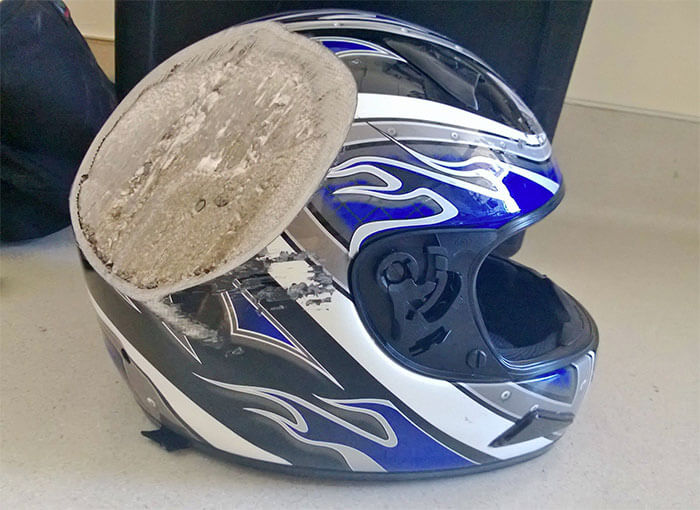 15 Reasons Why Wearing A Helmet Is Always A Good Idea - And This, Kids, Is Why You Wear A Freakin Helmet