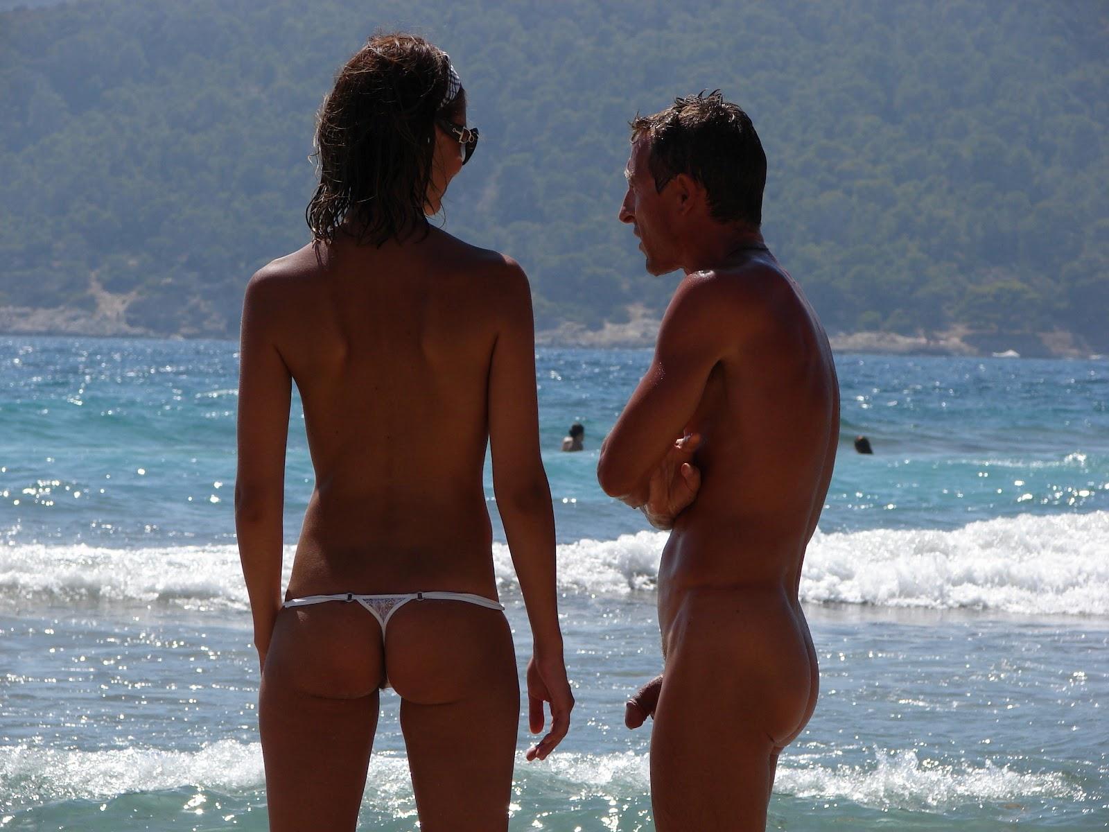 Great nude beach