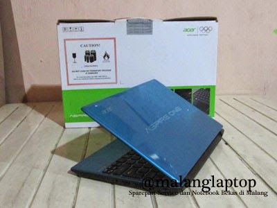 Netbook Second Acer Aspireone 756 Fullset