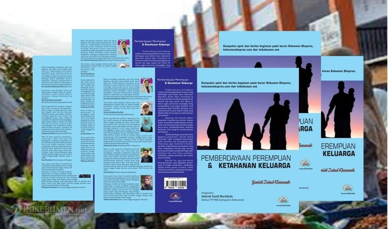 Dari Balik Kepulan Asap Dapur, Terbitlah Sebuah Buku Kader PKK