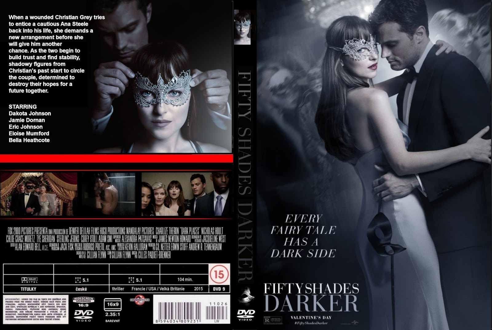 50 Tons Mais Escuros Download Torrent cinquenta tons mais escuro (sem cortes) dvd-r - xandao download™