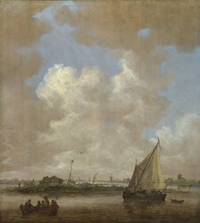 http://www.nationalgallery.org.uk/paintings/jan-van-goyen-a-river-scene-with-a-hut-on-an-island