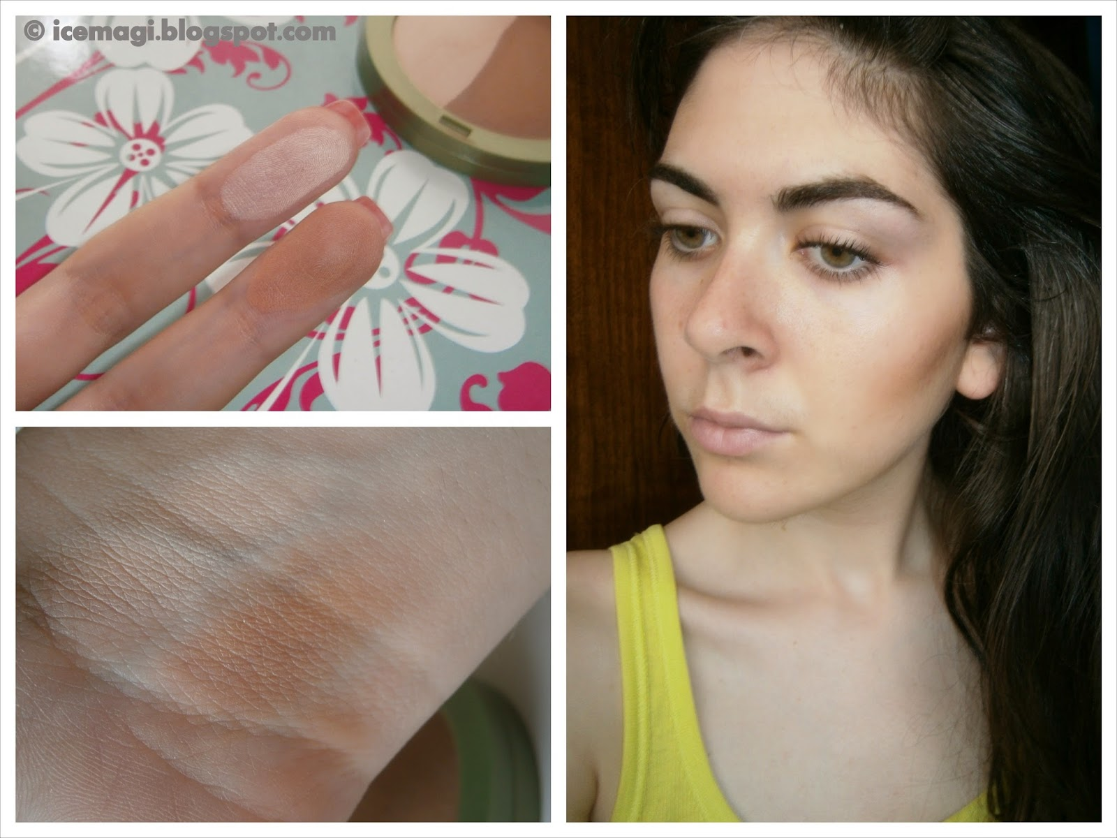 Alverde Duo-bronzer swatches