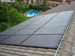 chauffage de piscine par panneaux phtovoltaique energie solaire. Black Bedroom Furniture Sets. Home Design Ideas