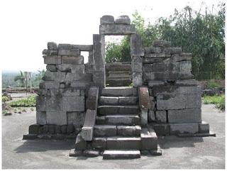 Candi Gunung Wukir Magelang, Jawa Tengah.