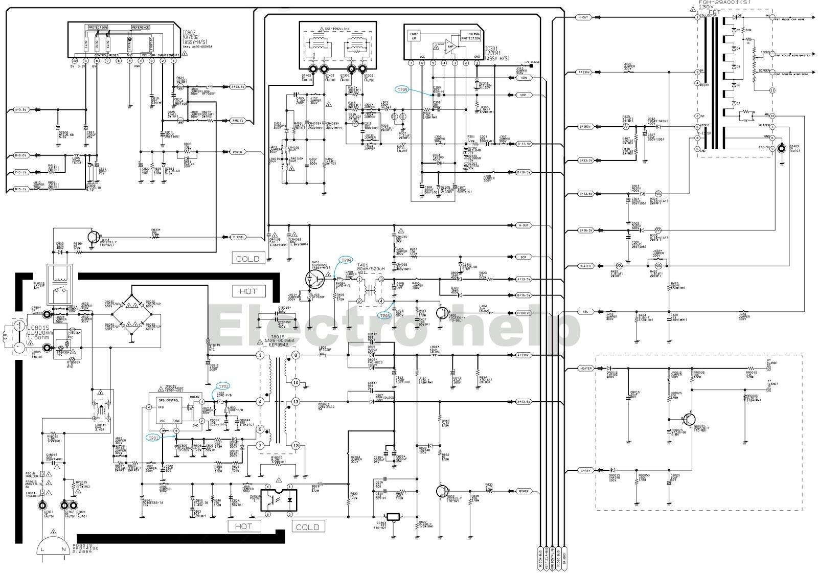 samsung remote diagram
