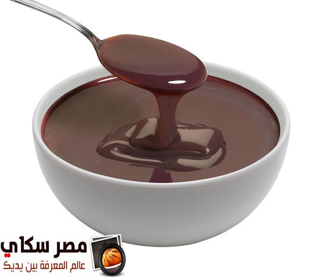 صلصة الشيكولاتة وطريقة التحضير Chocolate Sauce