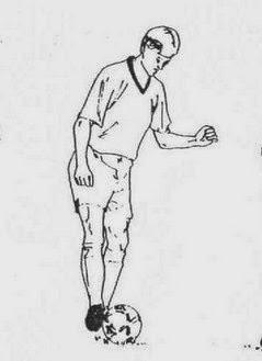Gambar Mengontrol Bola : gambar, mengontrol, Teknik, Mengontrol, Menghentikan, Dalam, Sepak