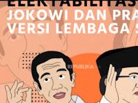 Indikator: Basis Pemilih Koalisi Prabowo Terpecah ke Jokowi