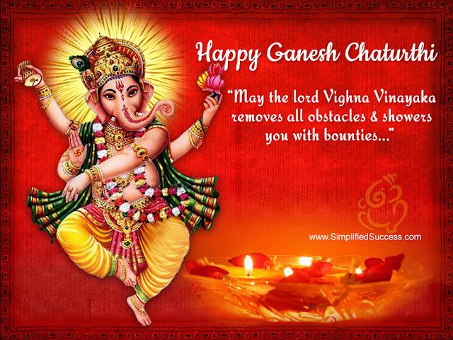 [*Ganesh Chaturthi SMS*] Best Happy Ganesh Chaturthi 2016 SMS Wishes Quotes