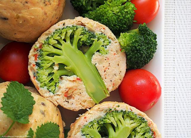 pulpety z różyczką brokuła