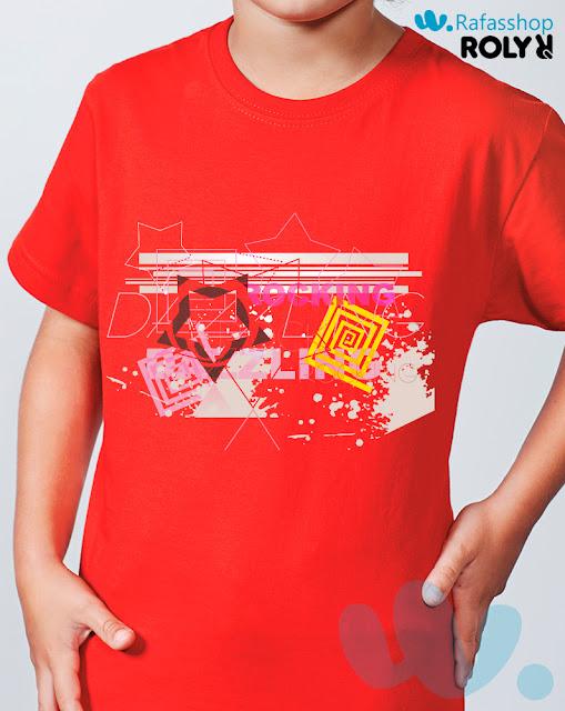 Camiseta Braco 6550 Roly Niño Manga Corta