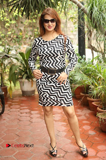 Actress Saloni Latest Pos in Short Dress  0275.JPG