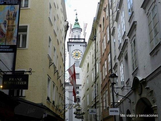 Antiguo ayuntamiento de Salzburgo, Austria
