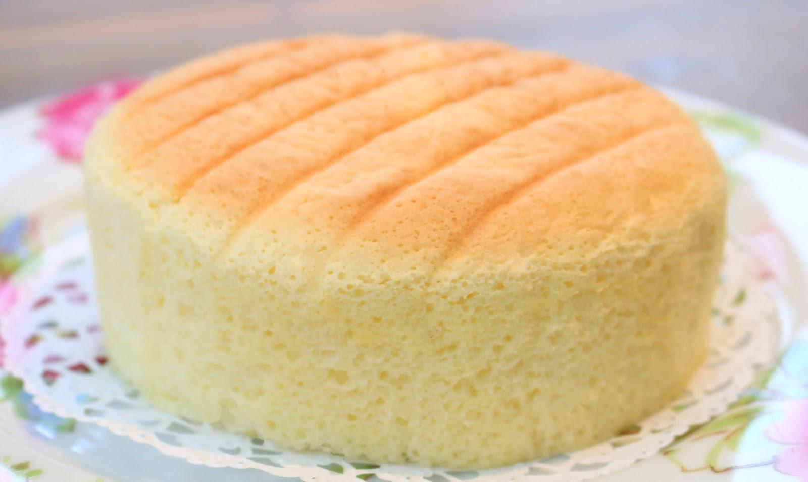 How To Make Butter Sponge Cake Tang Mian Method