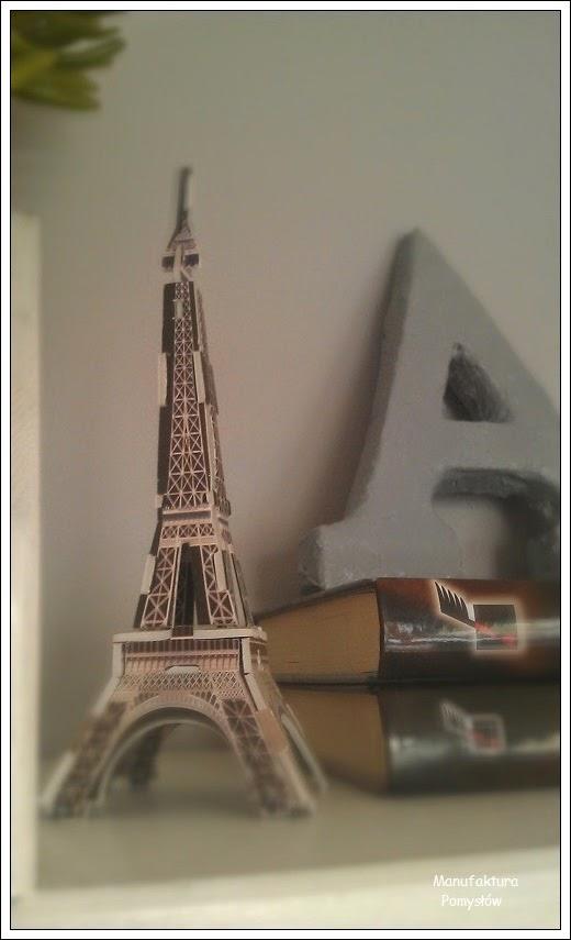 model, wieża Eiffla