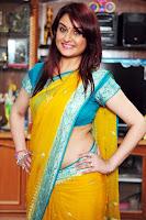Sonia Agarwal Latest Sizzling in saree HeyAndhra