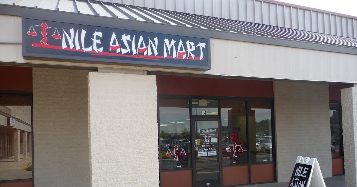 The Foraging Foodie On The Prowl Nile Asian Market In